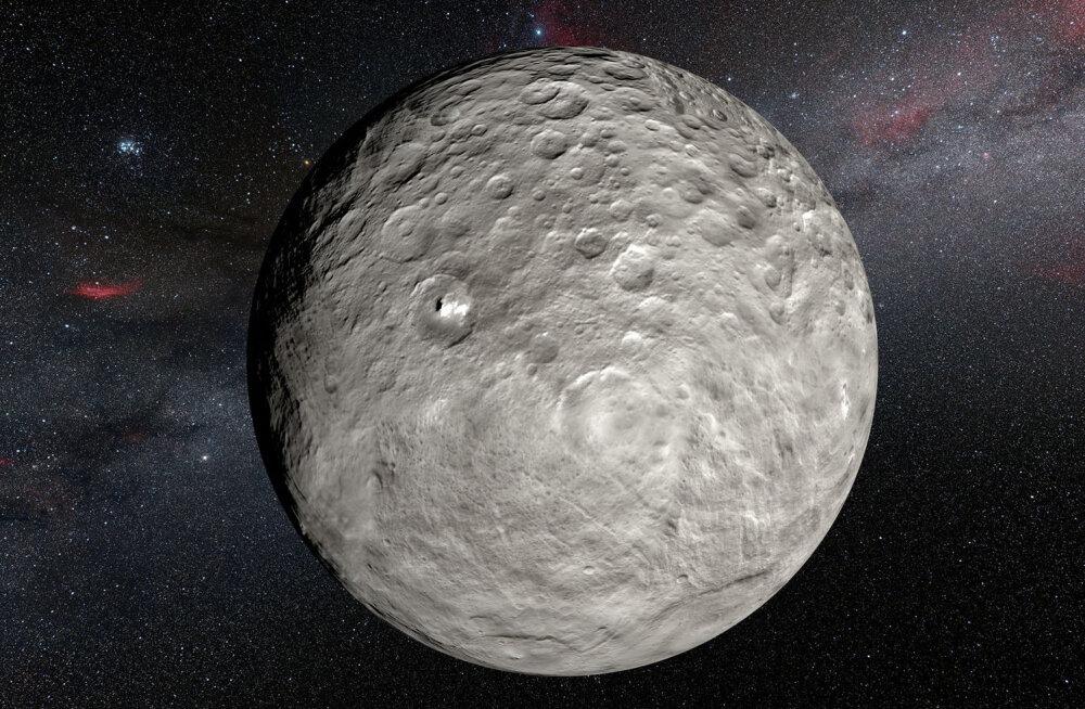 Elu ehituskivid? Kääbusplaneet Cerese pinnalt leiti orgaanilist materjali