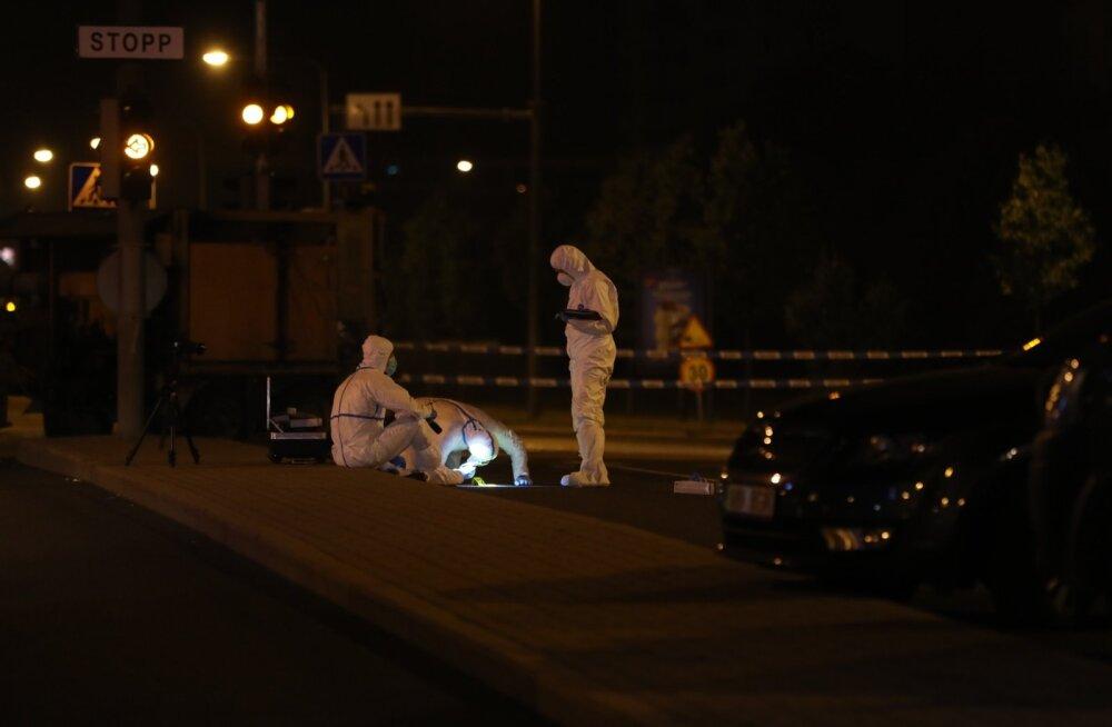 Устроившего стрельбу в Ласнамяэ дорожного рабочего обвиняют в покушении на убийство