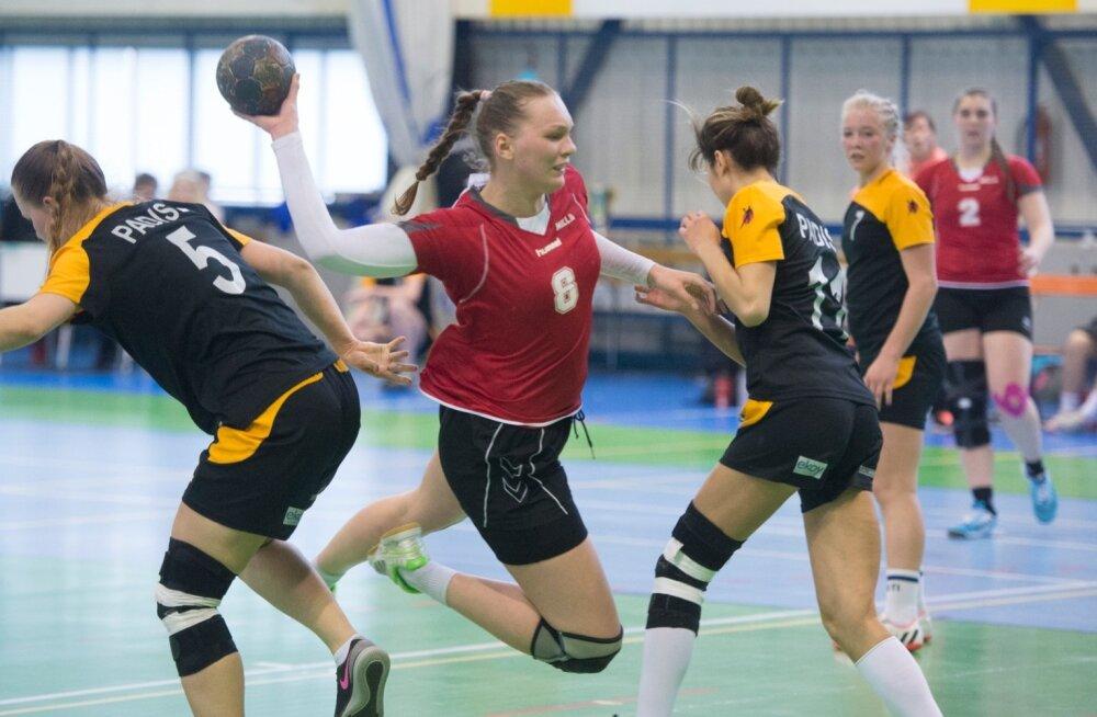 Eesti naiste käsipalliliiga finaal Mella vs Padise