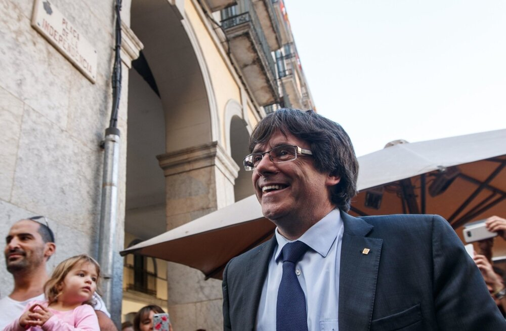 Puigdemont ja teised Kataloonia tagandatud valitsuse liikmed on teadete kohaselt Belgias