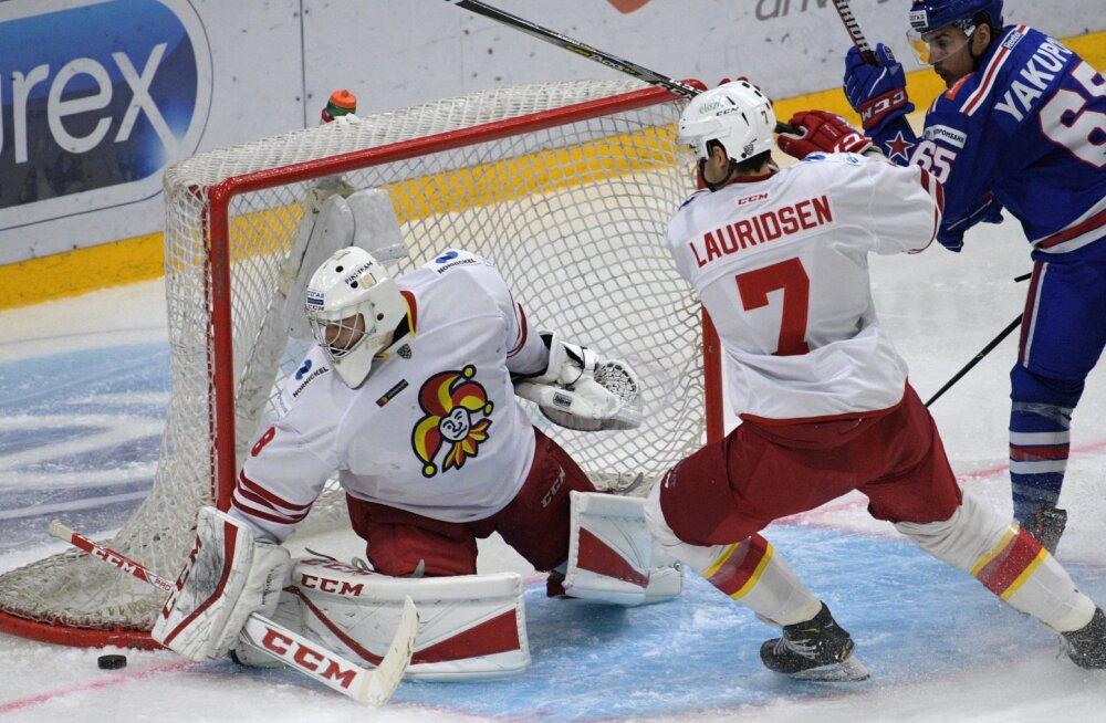 VIDEO | Lisaajal tehtud hooletusviga maksis KHL-is Jokeritele võidu ja kauni seeria