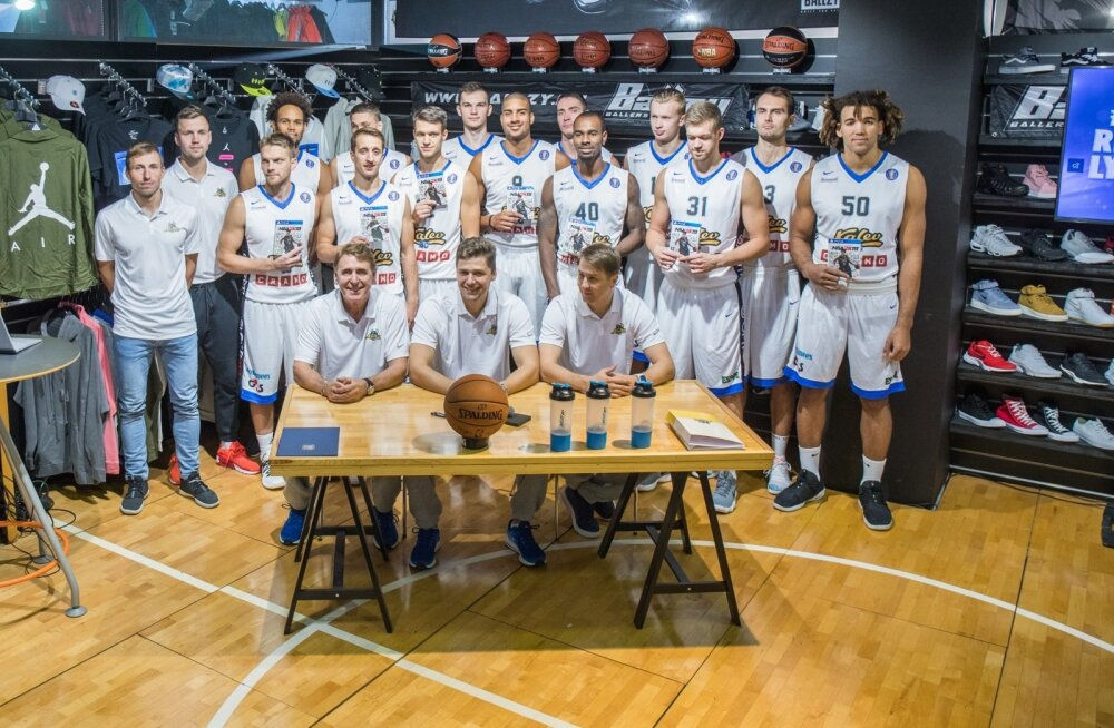 Kalev/Cramo koosseis sunnib Eesti ja Läti ühises liigas seadma kõige kõrgemaid sihte.