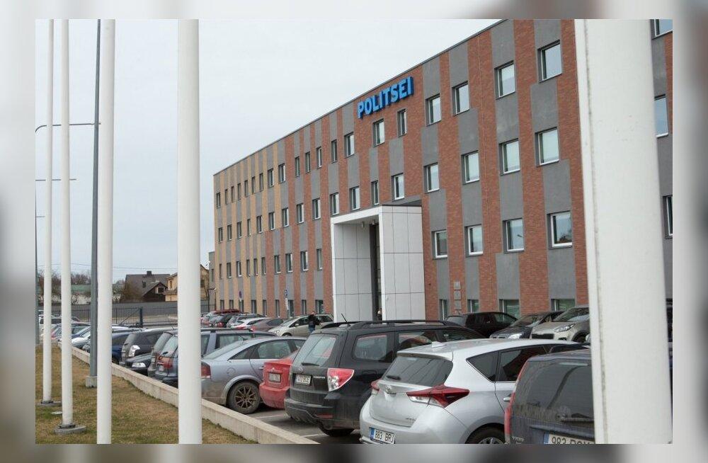 Руководитель Йыхвиского отделения полиции покидает занимаемую должность из-за проблем с выплатой премий