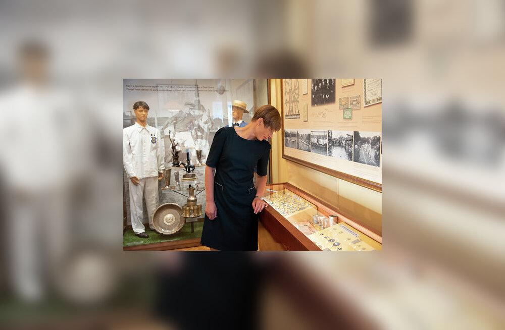 Kersti Kaljulaid avas SpordiMälu kogumisprojekti