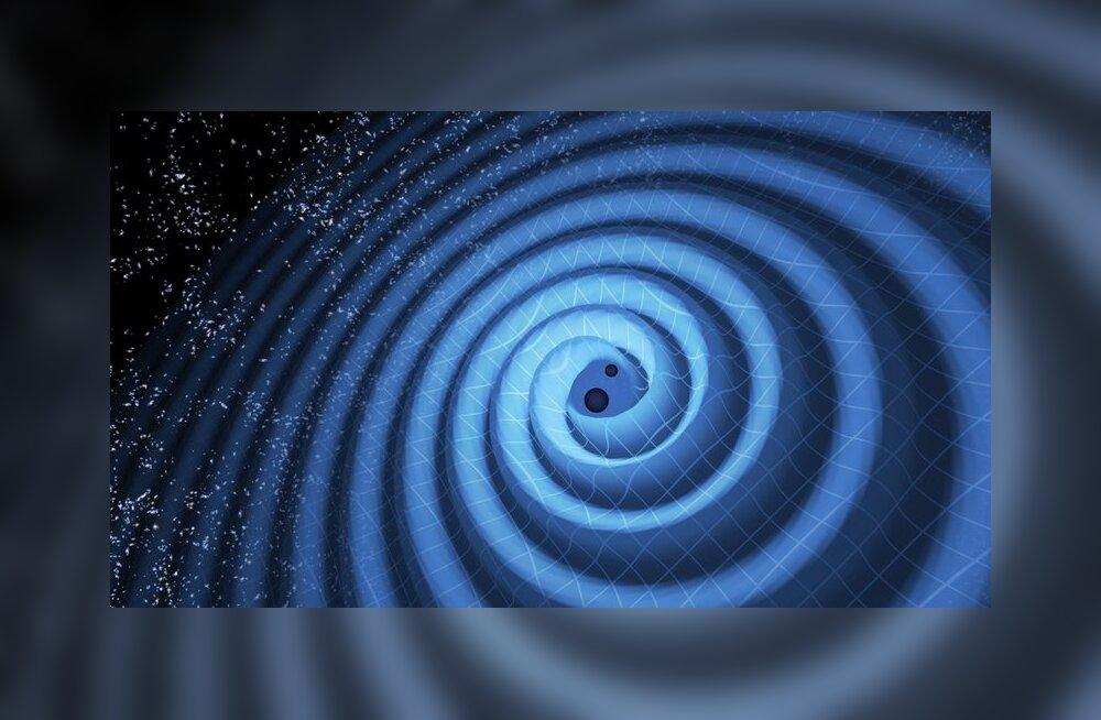 """Gravitatsioonilained on taas """"kinni püütud"""": uus aken universumi uurimiseks"""