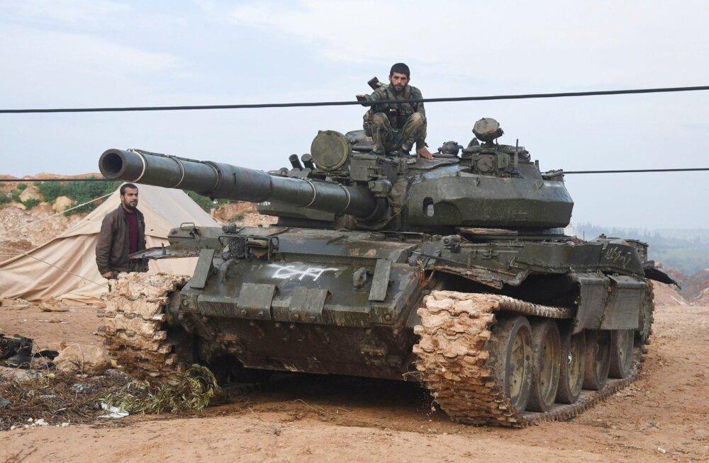 Süüria sasipuntras on peale Türgi hakanud muskleid näitama ka Iisrael
