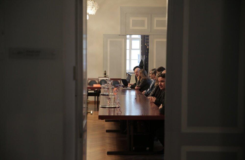 TÜ senat kogunes arutama rektori kohusetäitja küsimust