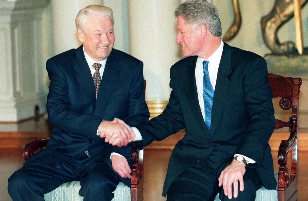 Jeltsin pakkus Clintonile saladiili: teeme nii, et Balti riigid ja Ukraina NATO-sse ei saa