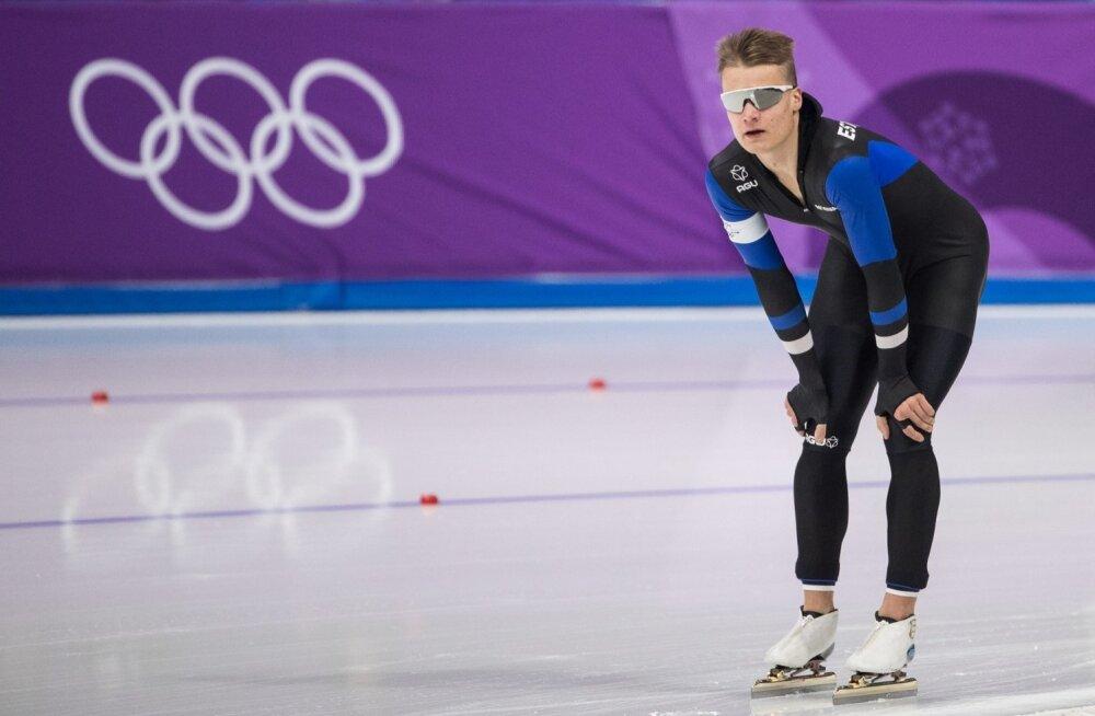 Marten Liiv Pyeongchangi olümpiamängudel.