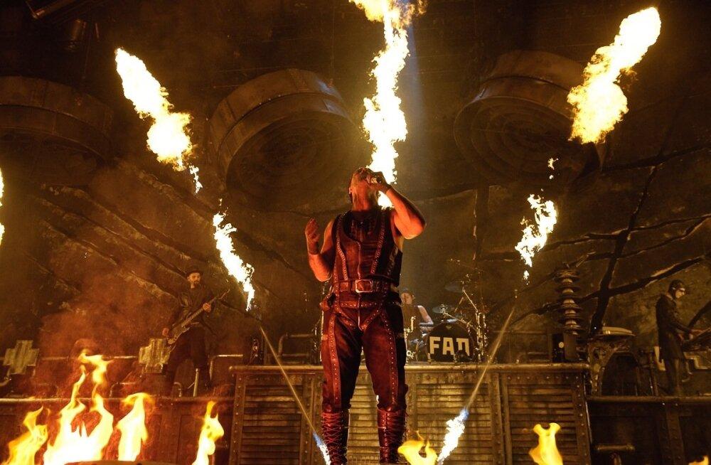 Rammstein esines Tallinnas viimati 2010. aastal.