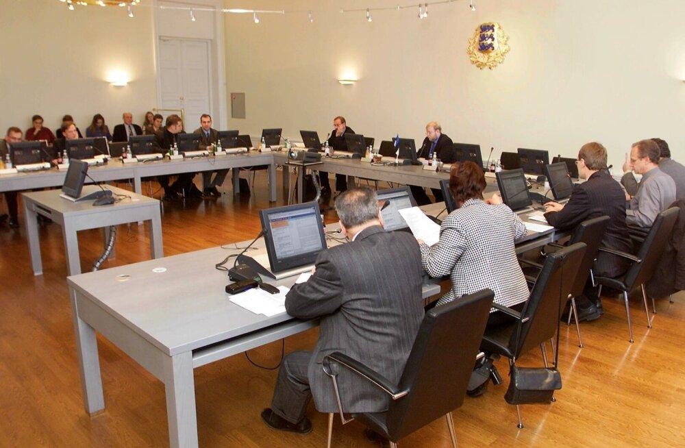 Mälestus e-riigi algusaastatest. Valitsuse istung aastal 2001.