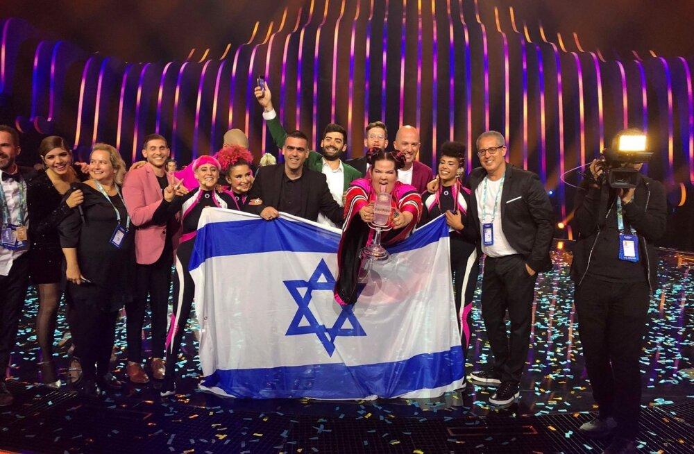 Eurovision 2018 võitja: Iisrael