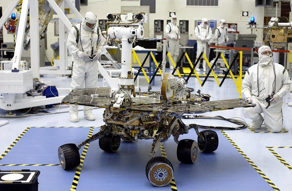 """NASA teadlased käiavad Opportunity """"äratamiseks"""" hommikumuusikat ja Marsi avastamisega seotud muusikapalu"""