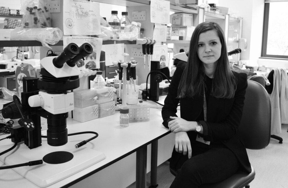 Doonorit pole enam vajagi: eestlanna arendab verehaigustega võitlemiseks erilist rakuravi
