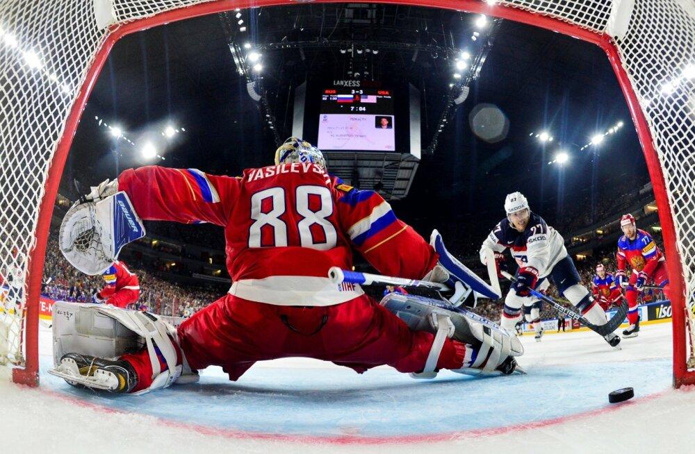 Jäähoki Venemaa vs USA