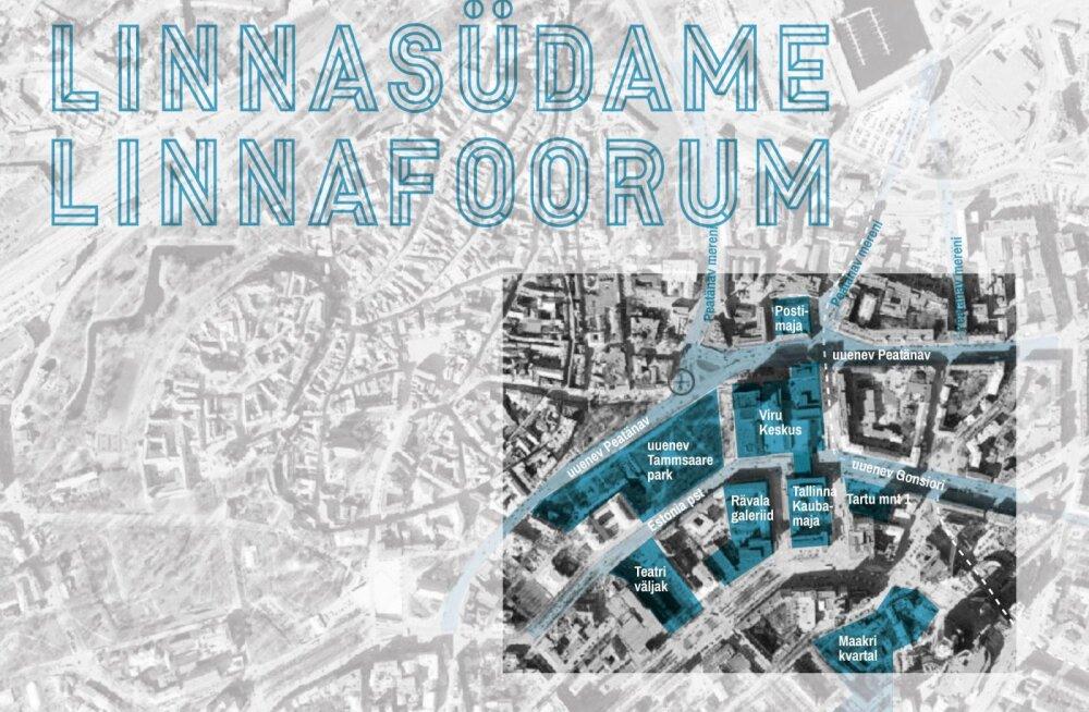 Tule räägi kaasa: Linnafoorum otsib põhjuseid Tallinna linnasüdames viibimiseks