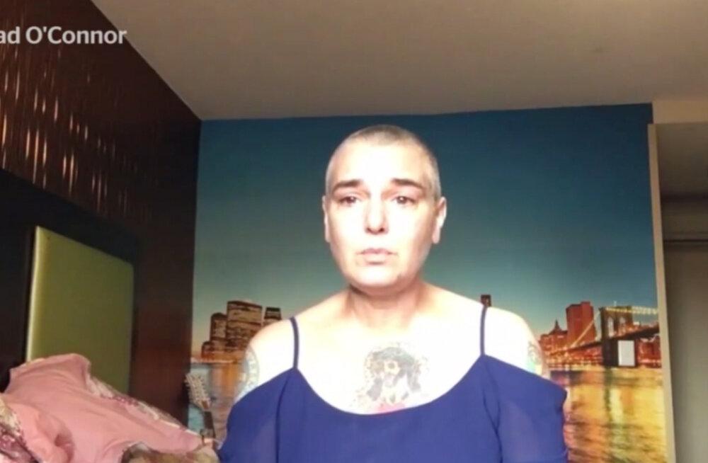 SÜDANTLÕHESTAV VIDEO | Sinead O'Connor postitas Facebooki video, kus räägib enesetapust ja palub abi
