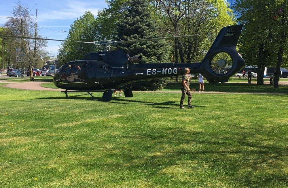 Oleg Grossi helikopter