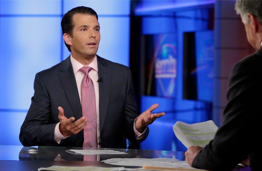 """""""Arvatavasti talitaksin praegu pisut teisiti,"""" tunnistas Trump jr usutluses Fox Newsile."""