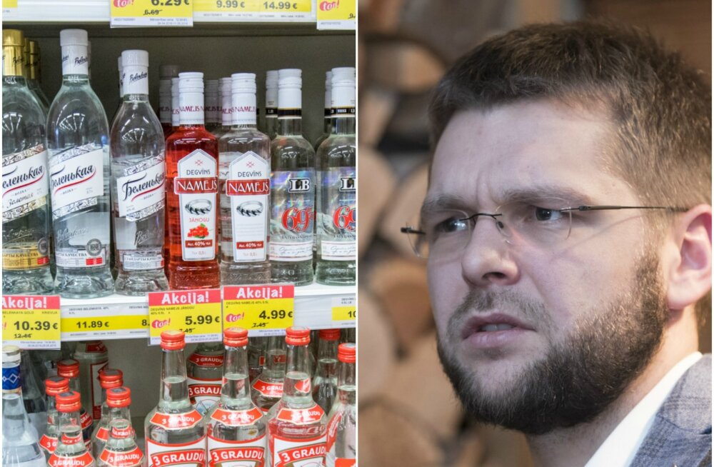 Kummardus Ossinovski tegevusele: viinatootja tuleb turule ministri nime meenutava vodkaga