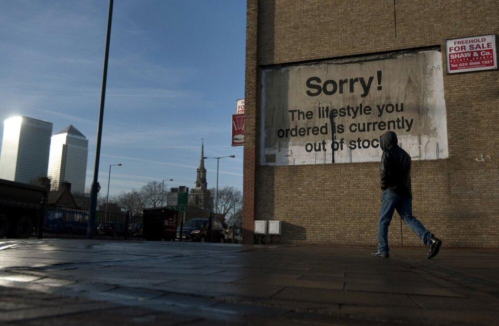 Ida-London. Teadlased selgitasid, et vaesuse ida poole jaotumist võib seostada 19. sajandi tööstusrevolutsiooniga.
