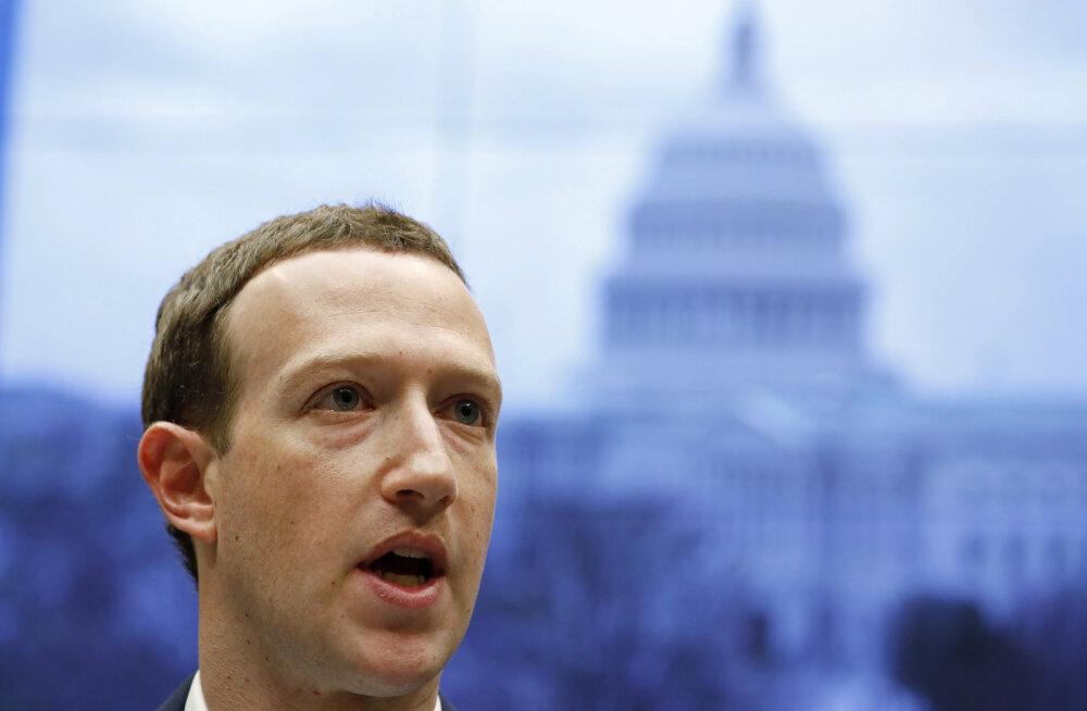 """Zuckerberg jätkas senati ees aru andmist. """"Ka minu andmed lekkisid Cambridge Analyticale"""""""
