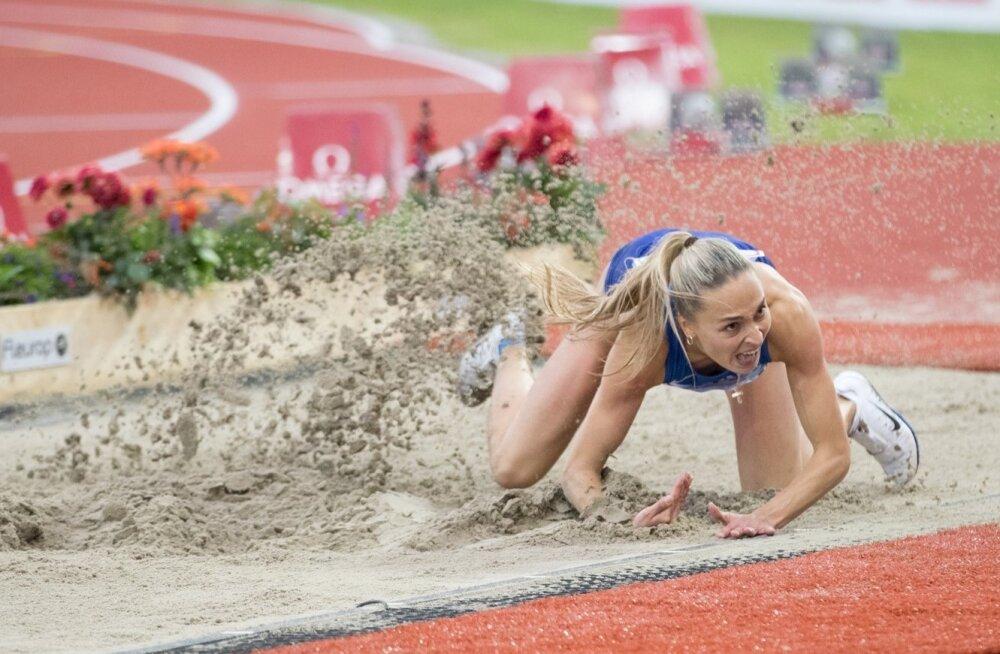 Ksenija Balta pole tänavu suvel veel võistelda saanud.