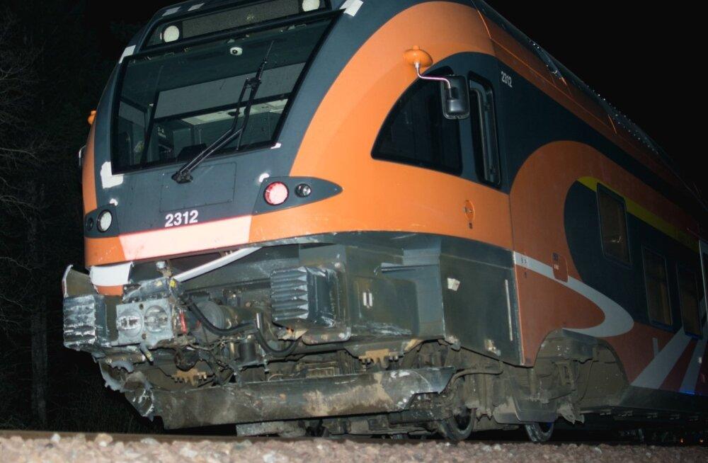 Rongiõnnetus Väike-Maarja vallas