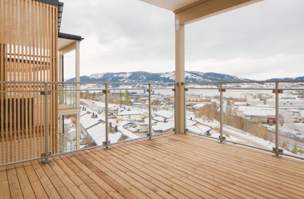 Harmet OÜ. Korterelamu Norras, puit-moodulmaja