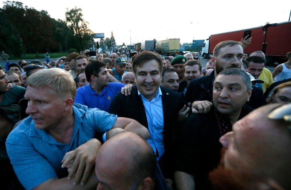 Ukraina siseminister käskis Saakašvilil ilmuda kas piiripunkti või migratsiooniteenistusse