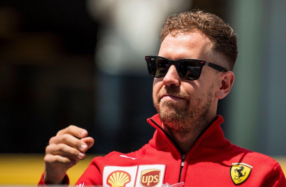 VIDEO | Pettunud, aga rahulik Vettel: oleksin Verstappeni ilma eriliste pretensioonideta mööda lasknud, aga selle asemel rikkus ta meie mõlema võistluse...