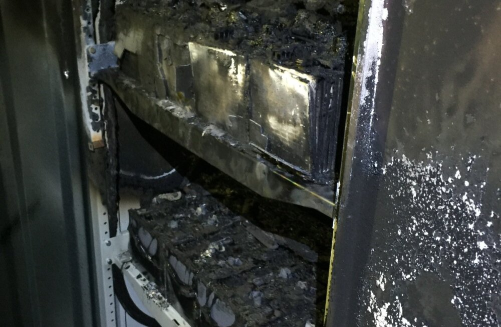 UPS-i akuploki põleng maa-ametis