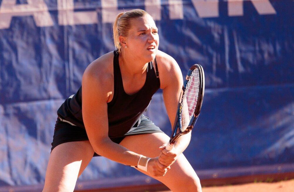 Merko Estonian Open tenniseturniir Pärnus, Kanepi - Aleksandra Buczhynska