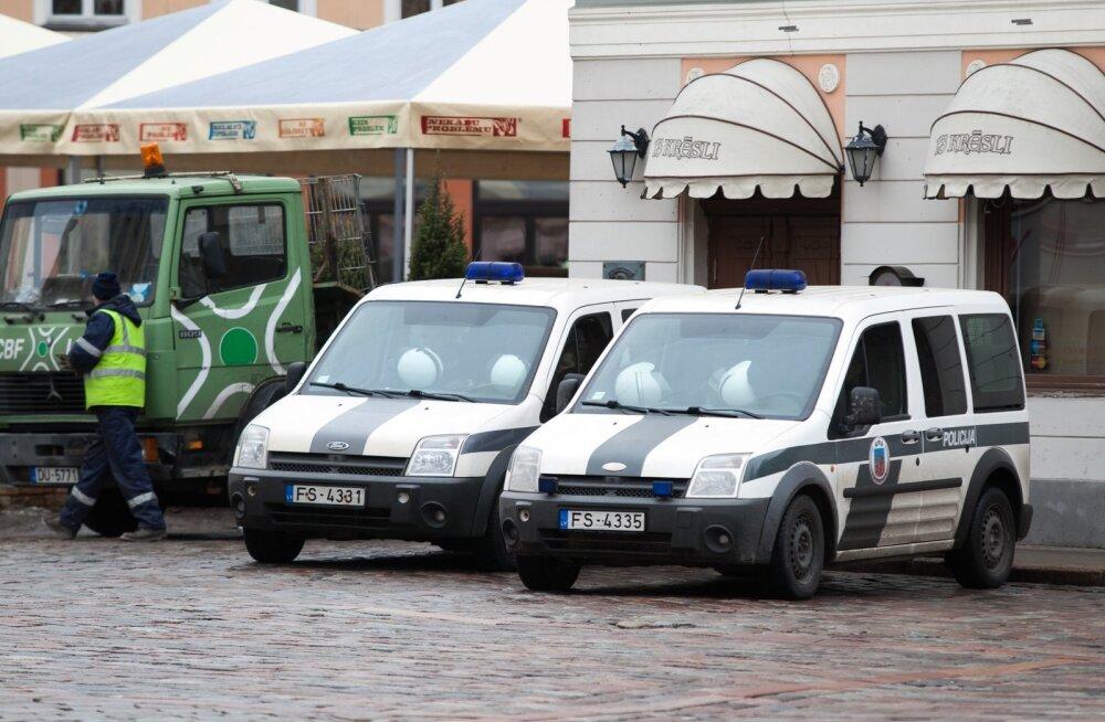Сотрудничество полиции Эстонии и Латвии помогло быстро найти угнанный автомобиль