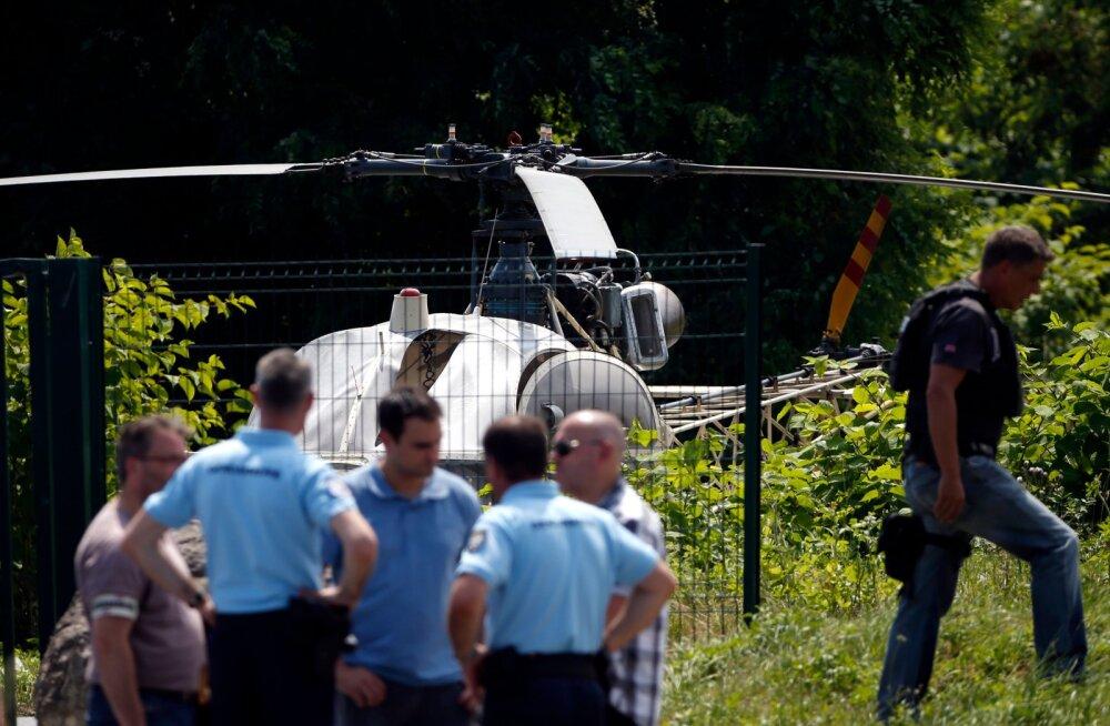Tuntud ohtlik Prantsusmaa allilmategelane põgenes taas vanglast, kasutades selleks helikopterit