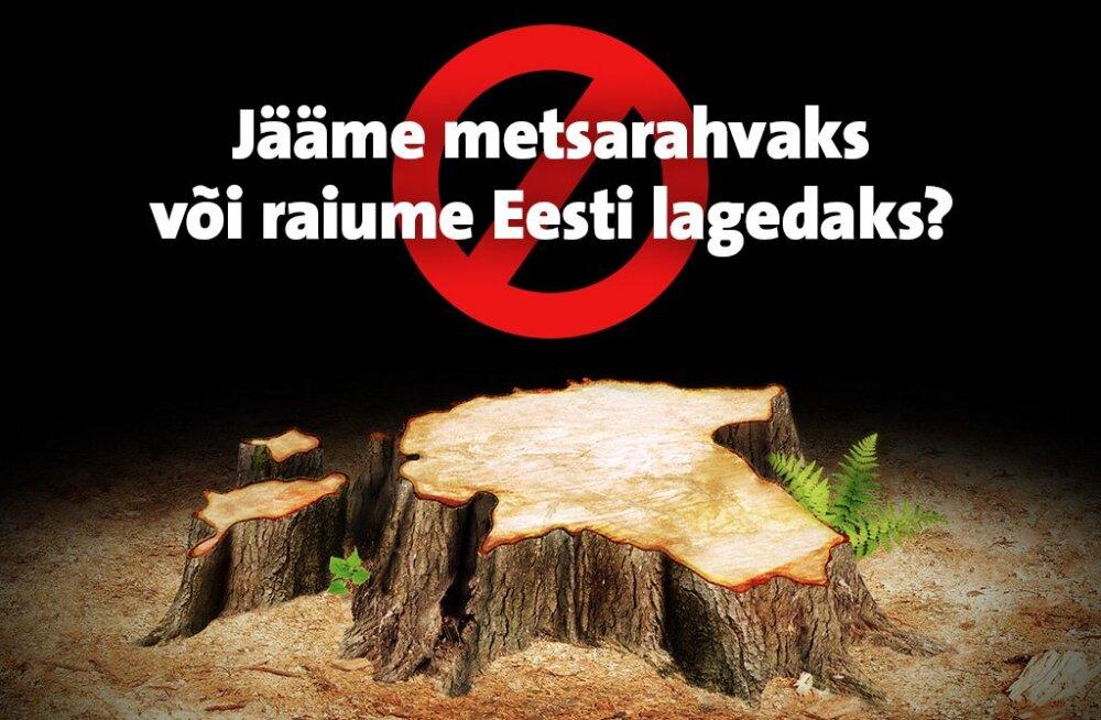 Keskkonnaühendused toovad välja Eesti metsanduse suuremad probleemid