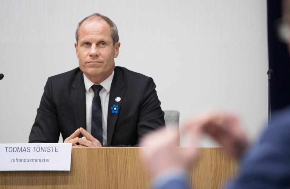 rahandusministeeriumi pressikonverents