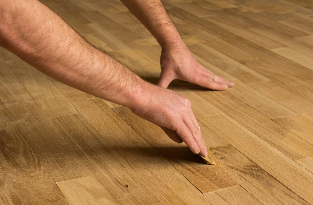 Kuidas parandada parkettpõrandat?