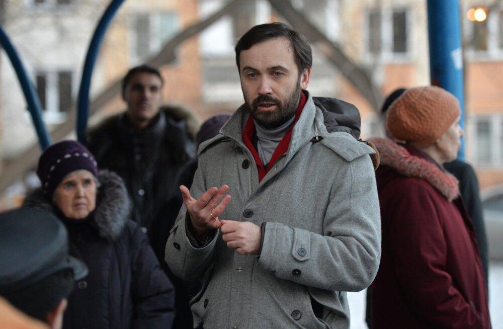 Moskvas esitati tagaselja taotlus Ilja Ponomarjovi vahistamiseks