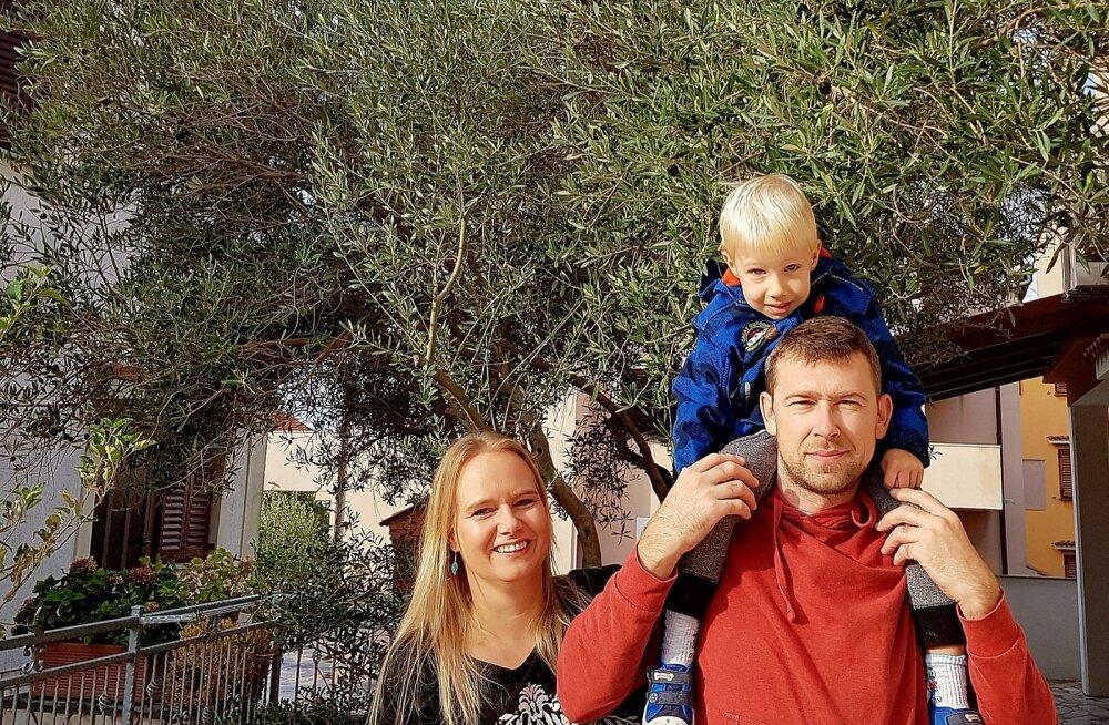 Eesti naise elu Horvaatias   Talvel valmistab noor pere suveniire, suvel müüakse need maha — seda kõike imelisel saarel elades