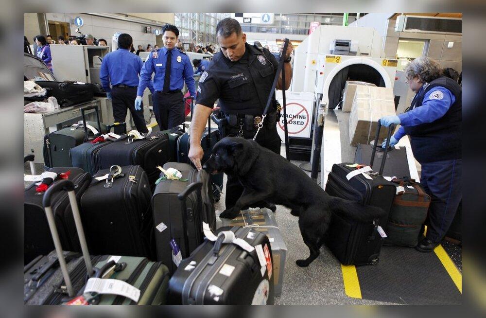 Miks sülearvuti tuleb lennujaama turvakontrollis tihti eraldi ette näidata?