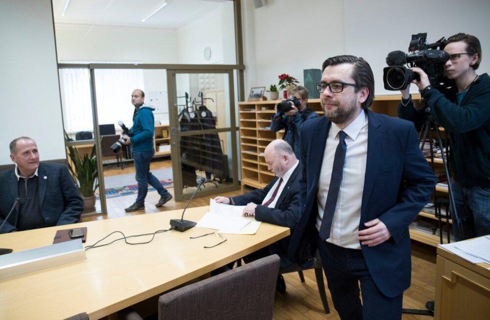 Reformierakonna uus peasekretär Kert Valdaru.