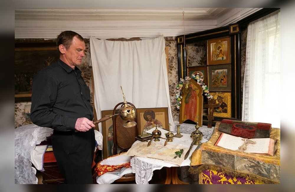 Aleksandr Ventšikov tutvustab Gavriil Frolovi tuba, kus kõik on peaaegu samuti nagu 1930.aastal, kui meister suri.