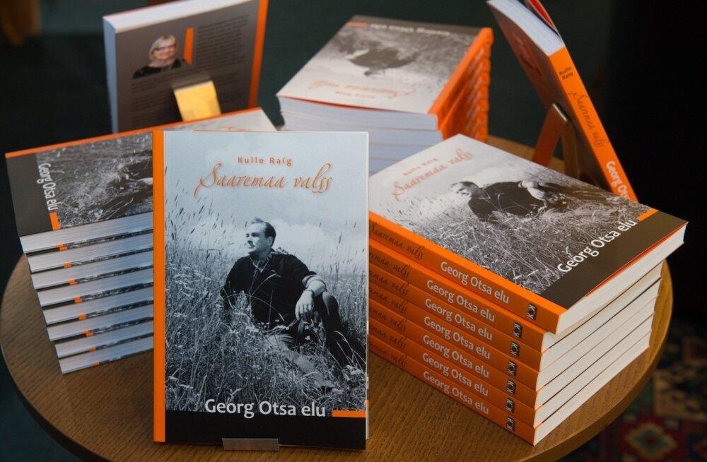 """Raamatu """"Saaremaa valss. Georg Otsa elu"""" esitlus."""