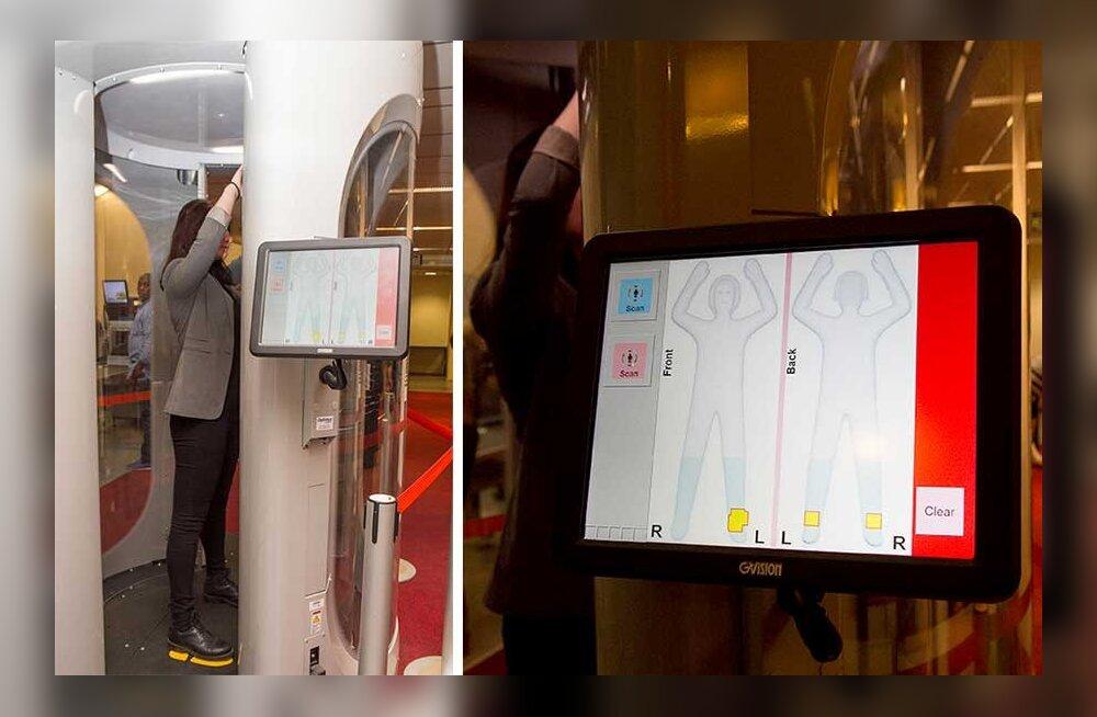 Кого и когда будут просвечивать сканером в Таллиннском аэропорту