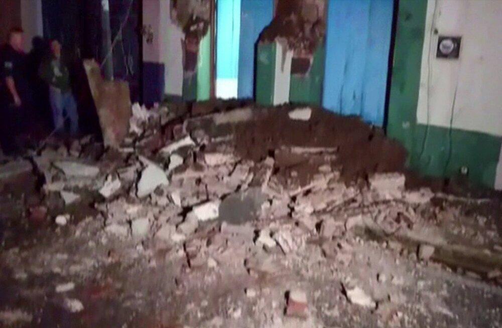 VIDEOD | Mehhiko maavärin pani maailma kõikuma ka tuhande kilomeetri kaugusel