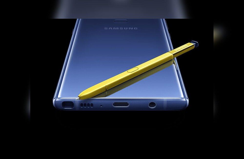 Samsung esitles eile oma uut Note 9 nutitelefoni