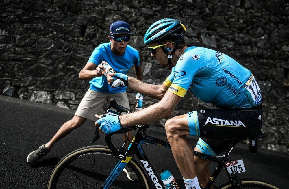 Tanel Kangert ründas kahel etapil, kuid jäi seekord võiduta.