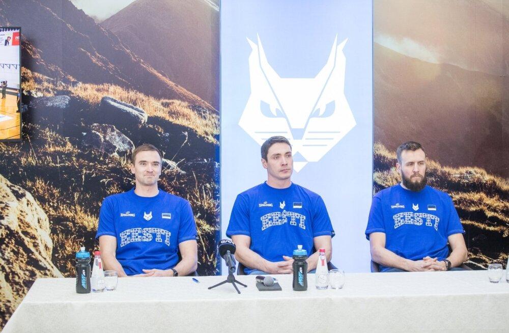 Korvpallikoondise pressikonverents