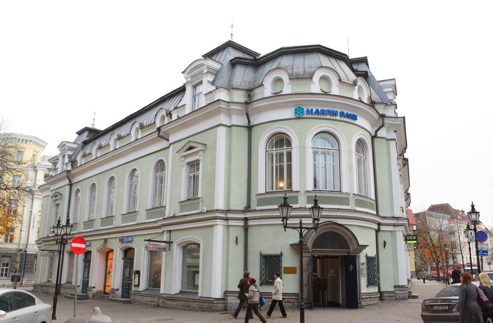Marfin Panga juhatuse esimees Riho Rasmann kinnitas, et panga töötajatega seotud firmad on faktiliselt panga kontrolli all.